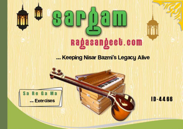 PDF) Harmonium Raga Sargam Lessons Sargam Exercises eBook ID-4466