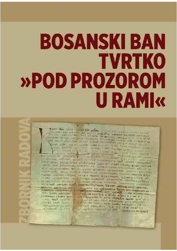 Pdf Prilozi Poznavanju Pucanstva Rame Od Srednjeg Vijeka Do Konca Osmanske Vladavine Contribution To Understanding Of Rama Population From The Middle Ages Till The End Of The Ottoman Rule Anto