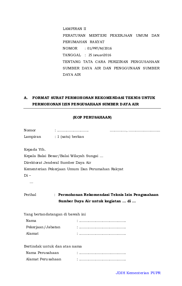 Pdf Lamp2 Permenpupr Guntara Larichi Academiaedu