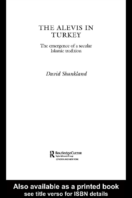 PDF) The Alevis in Turkey, David Shankland   Garabet K Moumdjian ...