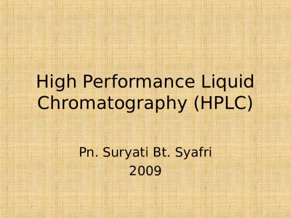 PPT) high-performance-liquid-chromatography-hplc-1 ppt