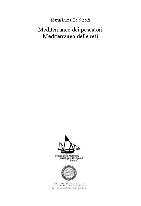 PDF) Mediterraneo dei pescatori Mediterraneo delle reti  d7b67888f52