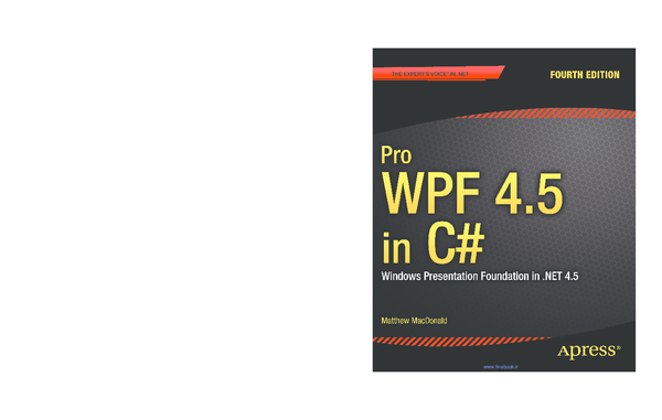 PDF) Pro WPF 4 5 in C# SOURCE CODE ONLINE | Miguel sebastiao