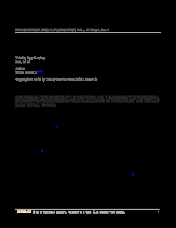 PDF) Financialization.Trinity Law Review.Bikku Kuruvila.pdf ...
