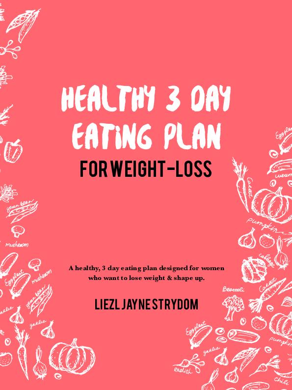 liezl jayne diet plan