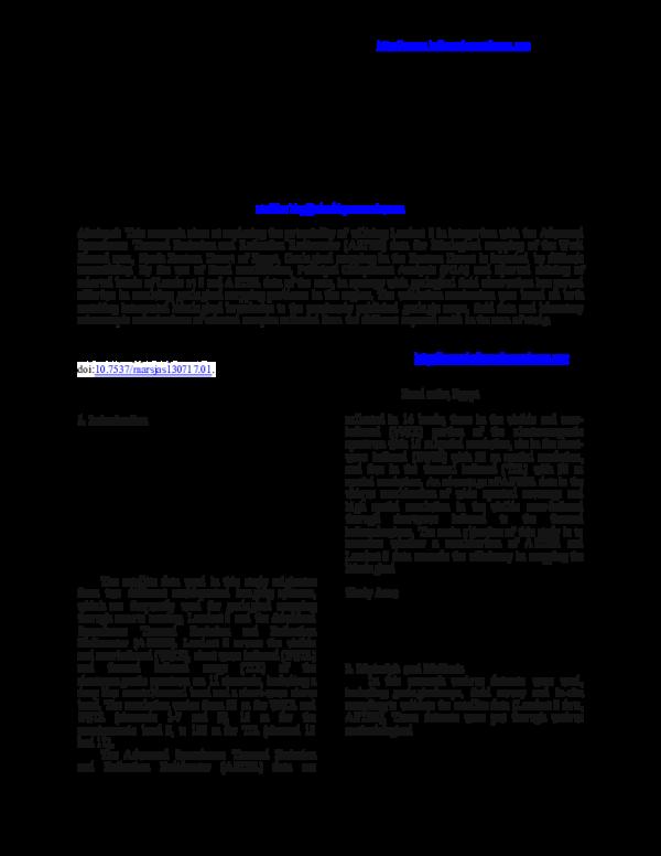 PDF) Using Landsat 8 and ASTER Data for lithological Discrimination