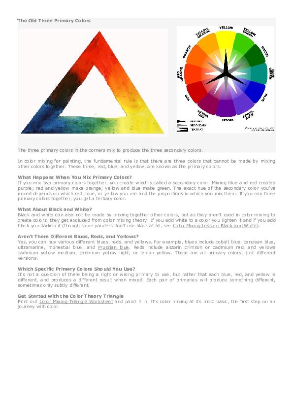 Pdf The Old Three Primary Colors Cris Catarina Academia Edu