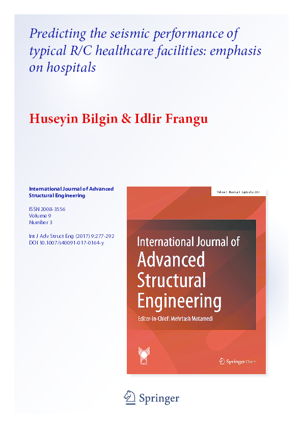 PDF) International Journal of Advanced Structural Engineering