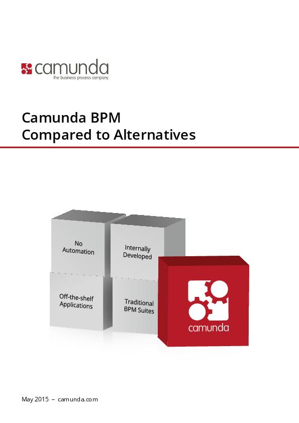 PDF) Camunda BPM Compared to Alternatives   Fernando Ibarra