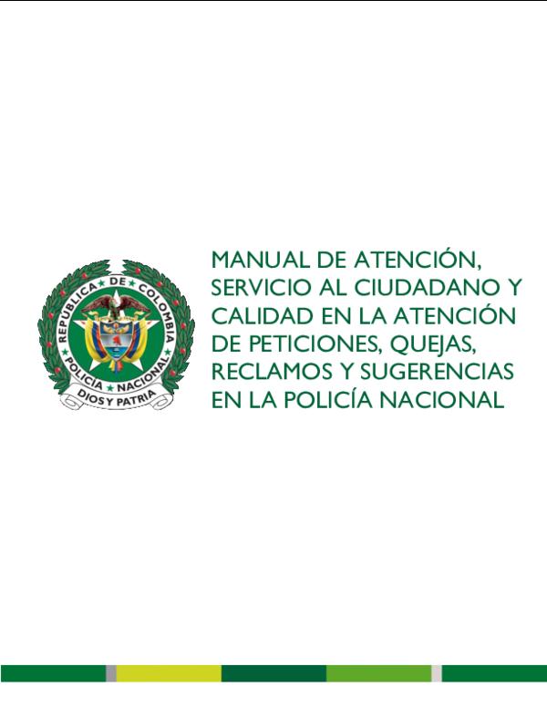Pdf Manual Atención Al Ciudadano Spqrs Julian Carrillo