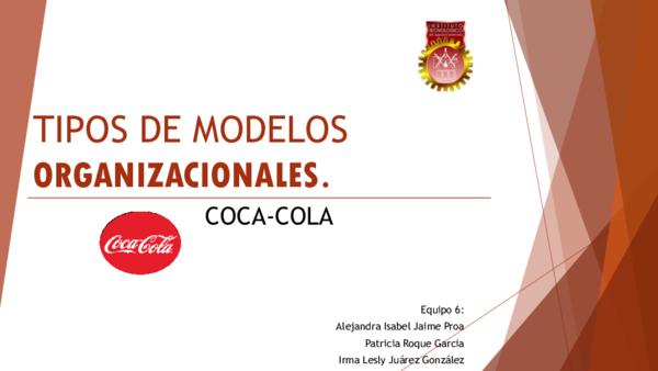 Ppt Tipos De Modelos Organizacionales Patricia Garcia