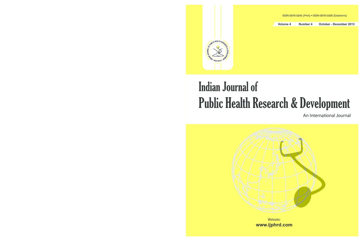 PDF) IJPHRD-OCT-DECEMBER_-24-10-2013- Study of effect of