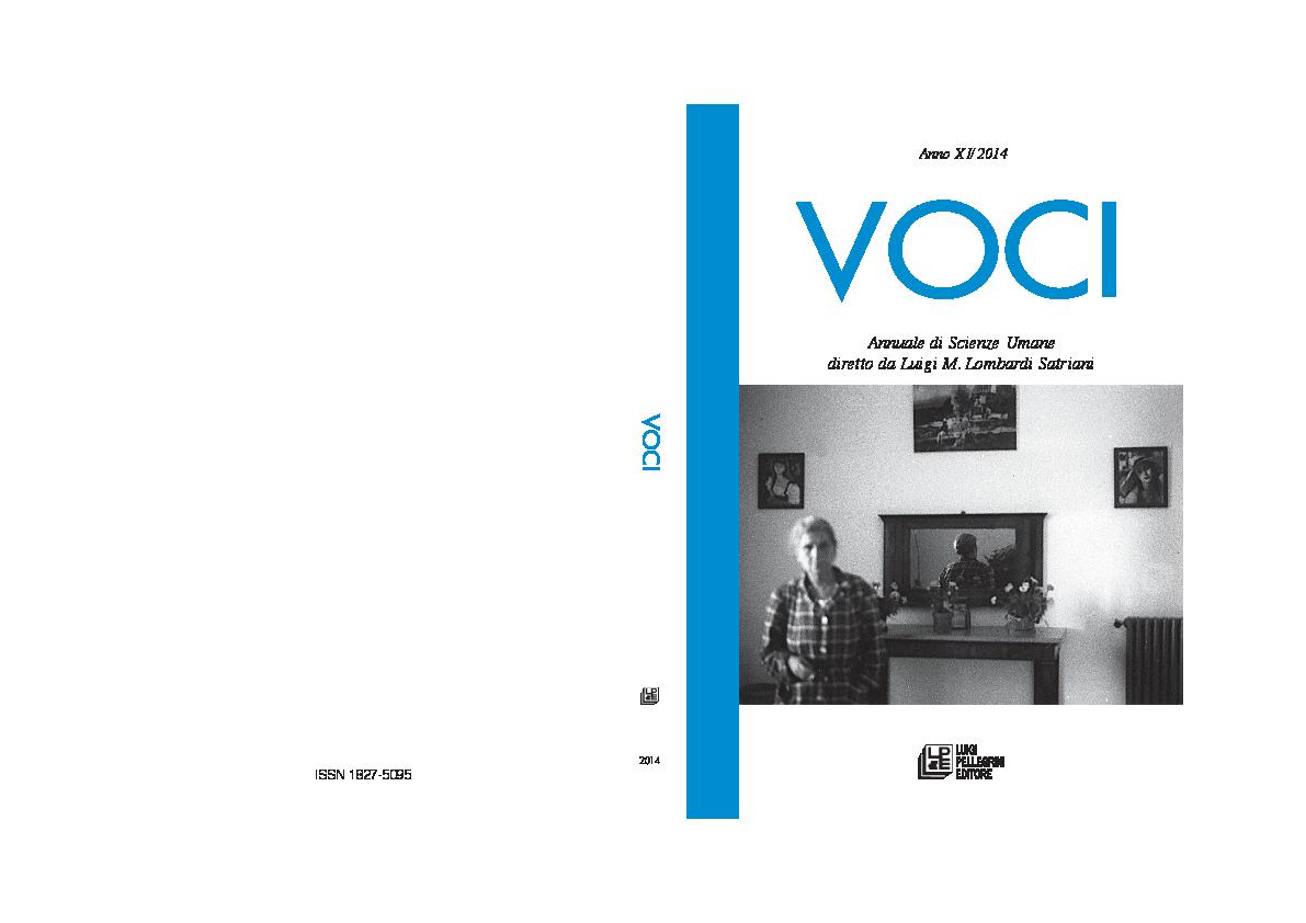 PDF) VOCI_2014_DEF.pdf | Rosa Parisi Academia.edu