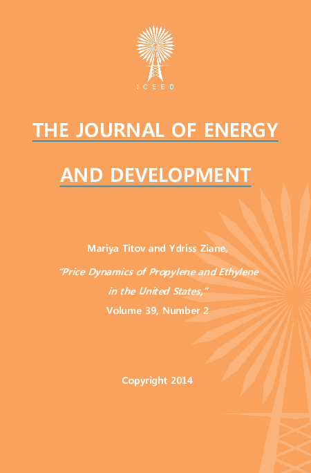 PDF) Price Dynamics of Propylene and Ethylene in the United