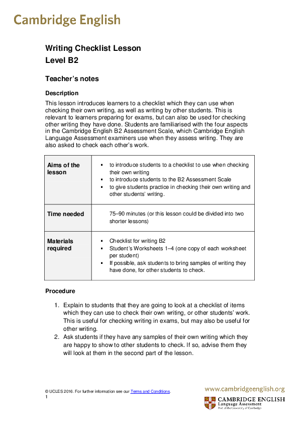 B2 Vocabulary List Pdf Cambridge