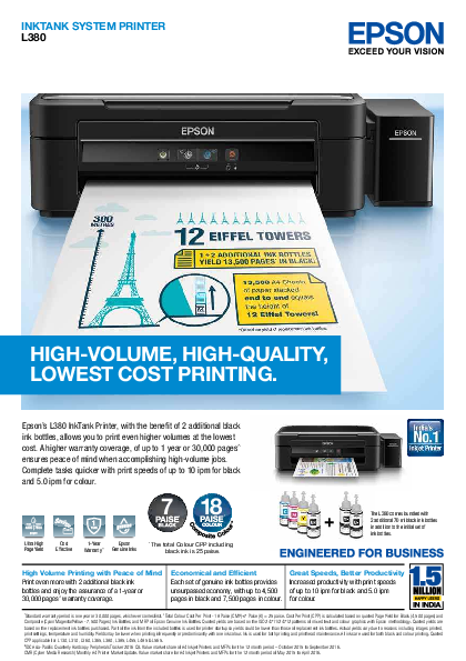 PDF) HIGH-VOLUME, HIGH-QUALITY, LOWEST COST PRINTING | MS