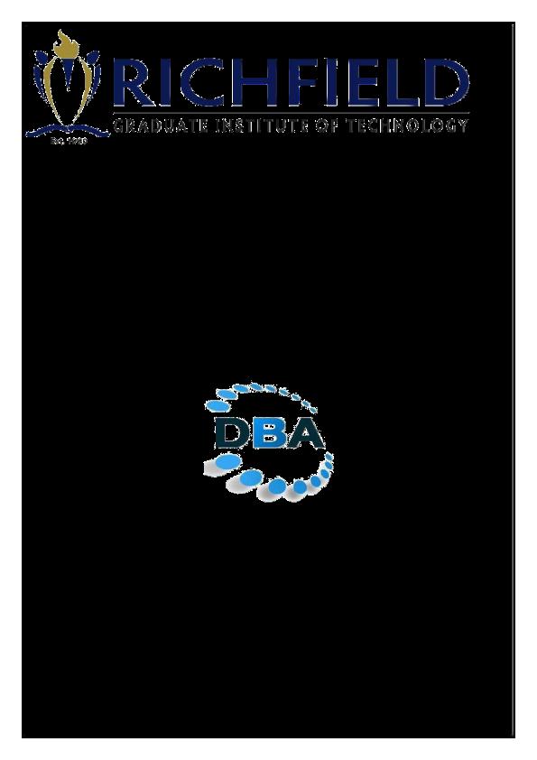 PDF) DBA 3YEAR ASSIGNMENT BOOKLET.PDF   kamogelo phalane ...