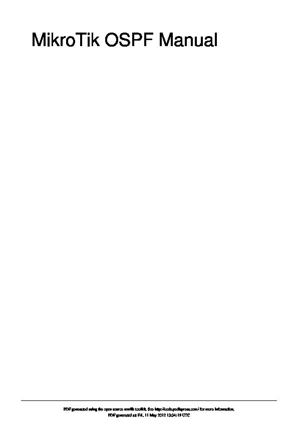 PDF) MikroTik OSPF Manual   gregorius document2 - Academia edu