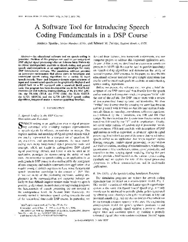 Dsp Course Pdf
