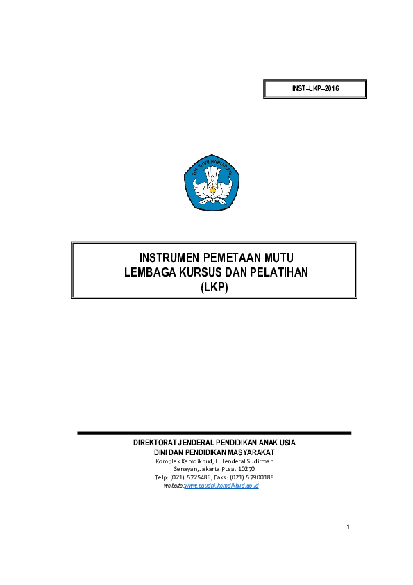 Contoh Laporan Bulanan Lembaga Kursus Dan Pelatihan Kumpulan Contoh Laporan