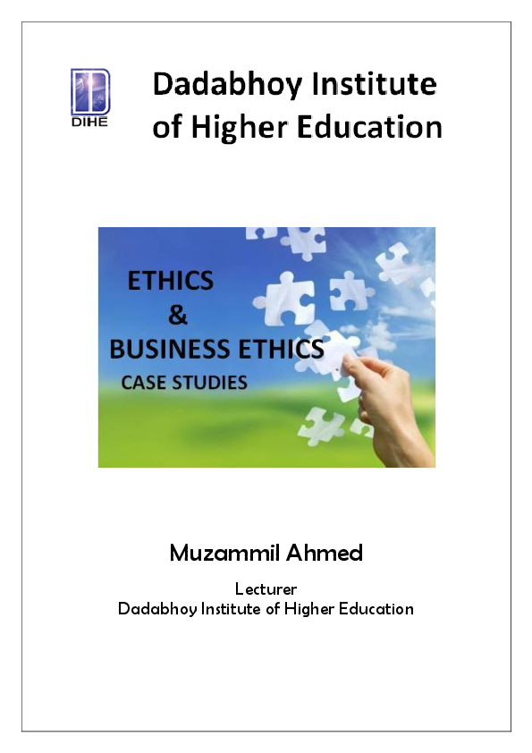 ethical dilemmas in business case studies