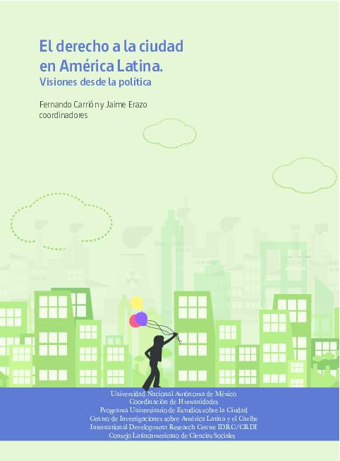 9bbb728a96a PDF) El derecho a la ciudad en América Latina. Visiones desde la ...