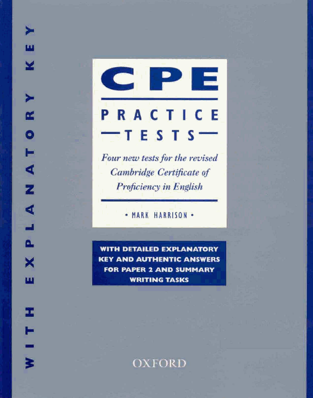 Pdf New Proficiency Cpe Practice Tests With Key Dorota Golu Academia Edu