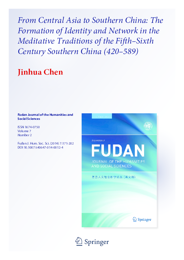 PDF) From Central Asia to Southern China: The Formation of ...