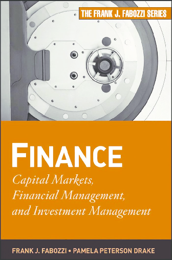 PDF) Book Finance Capital Markets Financial Management and