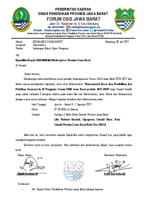 Pdf Surat Undangan Peserta Asep Barnas Academiaedu