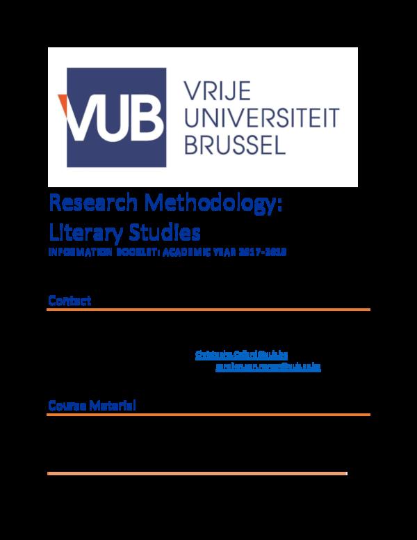vub lw thesis
