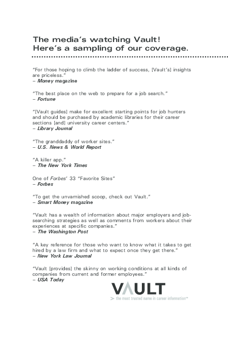 0b6bb8a0326b PDF) The media s watching Vault! Here s a sampling of our coverage ...