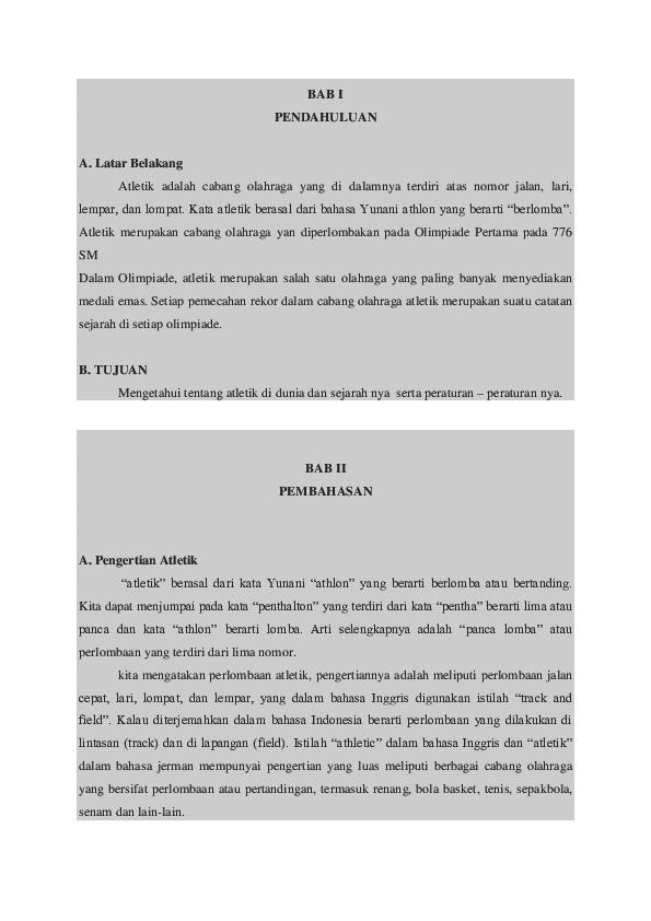 Doc Makalah Atletik Andri Agus S Academia Edu