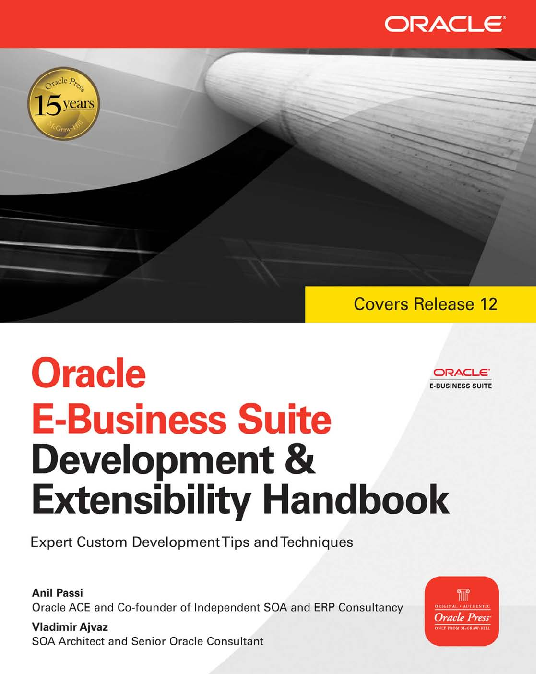 PDF) Oracle E-Business Suite Development and Extensibility
