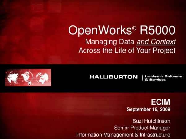PDF) ECIM OpenWorks ® R5000   Juan Carlos Rodriguez B
