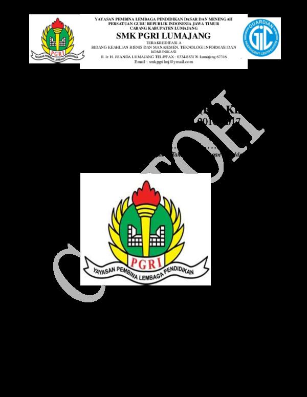 Doc Format Laporan Prakerin Yogi Pratama Academia Edu