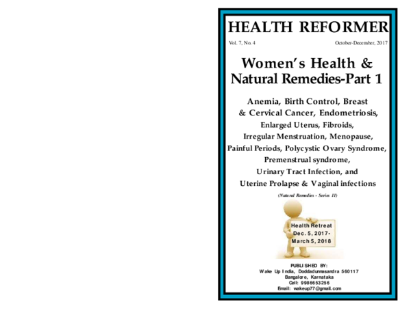 PDF) Women's Health & Natural Remedies-Part 1 HEALTH