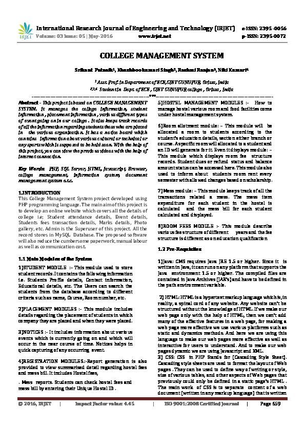 Document Management System Project Report Pdf