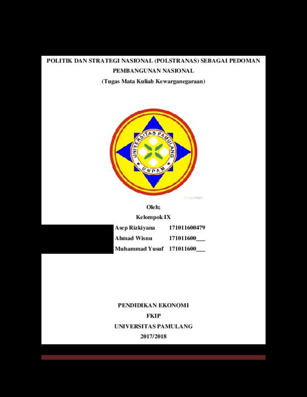 Doc Makalah Pkn Kelompok 9 Docx Asep Rizkiyana M Academia Edu