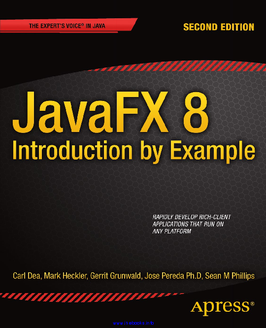 PDF JavaFX 8 2nd Edition