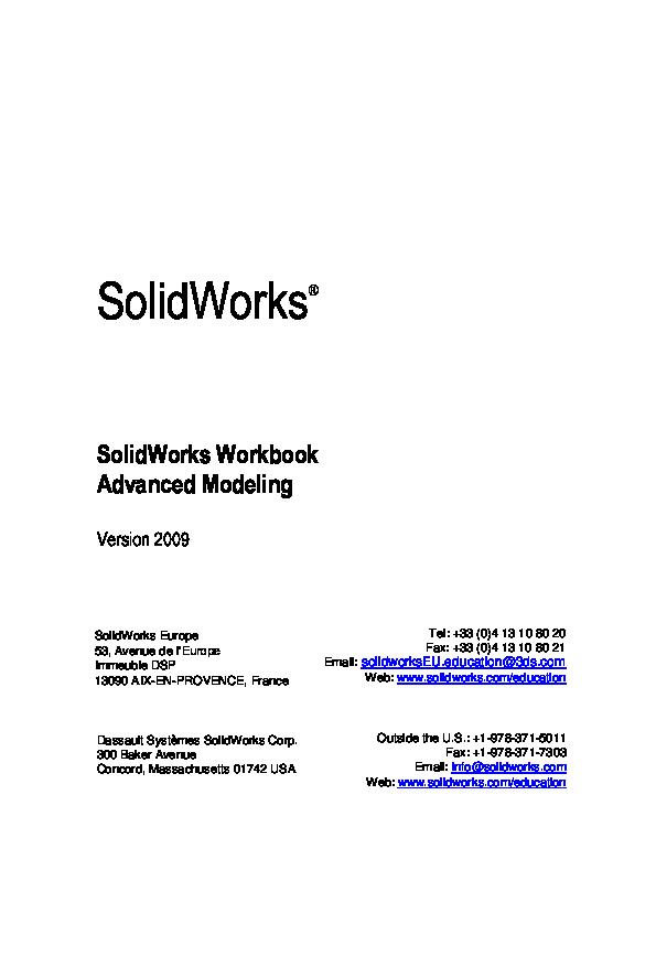 Pdf Advanced Modeling Workbook Lr Mohammed Hamada Academia Edu