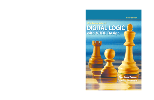 Pdf Fundamentals Of Digital Logic With Vhdl Design 3rd Edition By Brown Vrasenic Pdf Jeeva Keshav Academia Edu