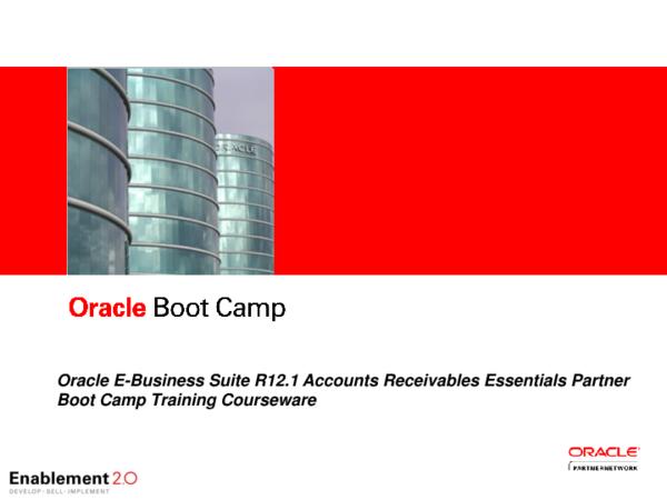 PPT)  EBS R12 1 AR Tax Processing Oracle EBS | Hsu Gison - Academia edu