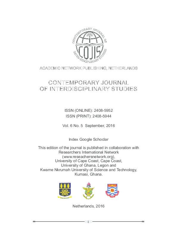 PDF) COJIS_JOURNAL_VOL6_NO5_SEPTEMBER2016.pdf | Adebisi Adesola ...
