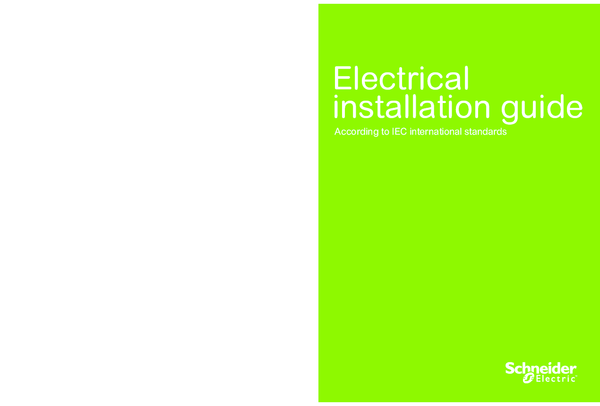 PDF) Electrical installation guide According to IEC international