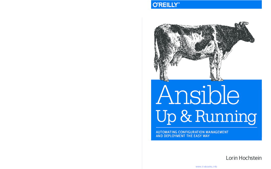 PDF) Ansible: Up and Running