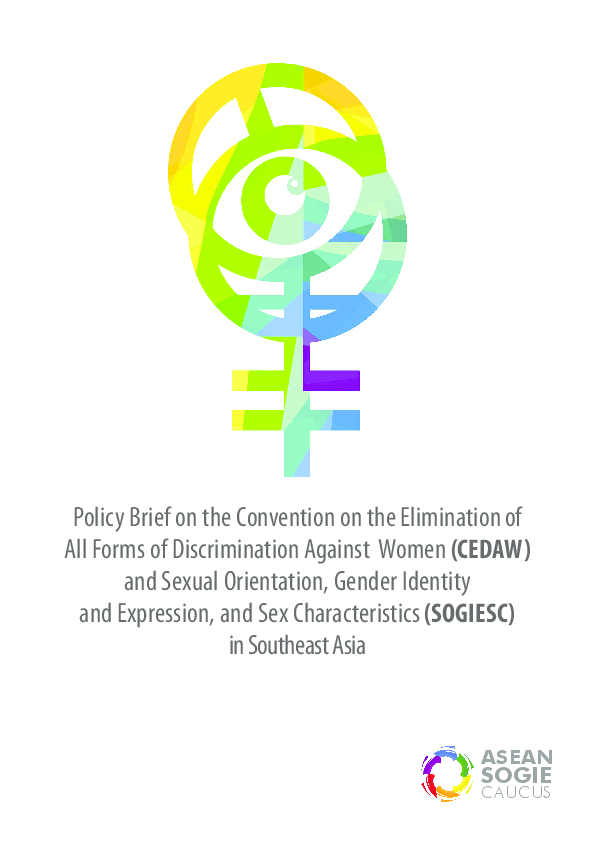Pdf Policy Brief On The Cedaw And Sexual Orientation -6251