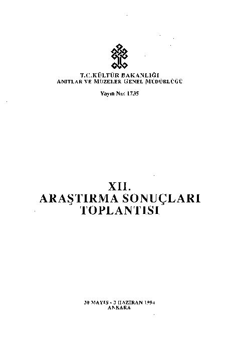 Pdf 12 Araştırma Sonuçları Toplantısıpdf Ismail Karabulut