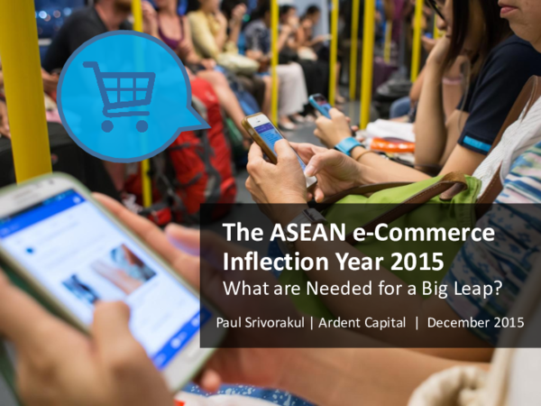 PDF) The ASEAN e-Commerce Inflection Year 2015 What are Needed for a