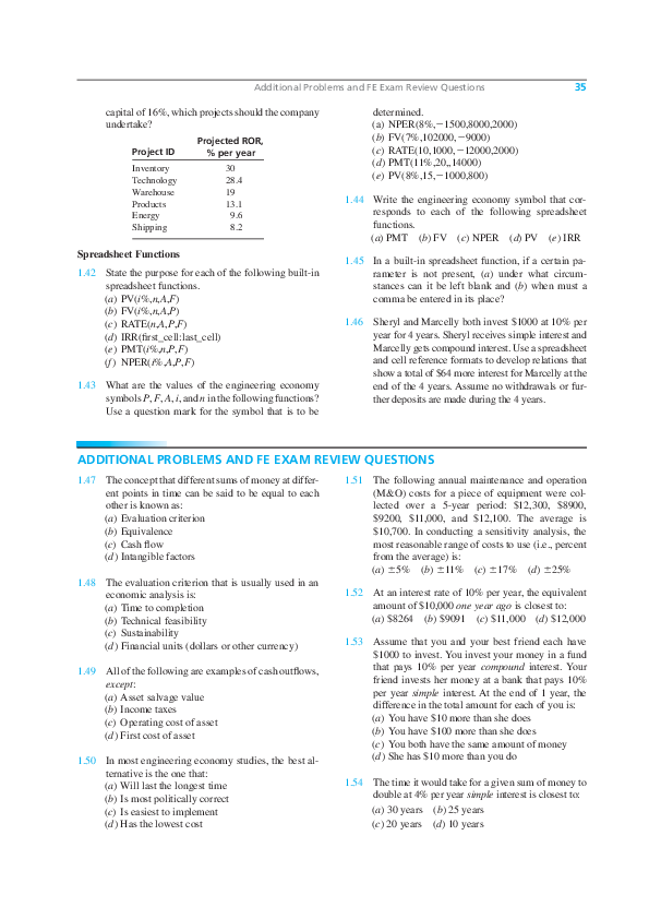 PDF) Spreadsheet Functions | Ali Beyaz - Academia edu